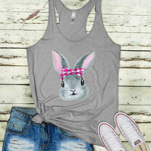 2019 Easter Rabbit Tank Women New Farm Top Graphic Tanks Girls Love Cowgirl Clothes Southern Tops Sexy Plus Size Gothic