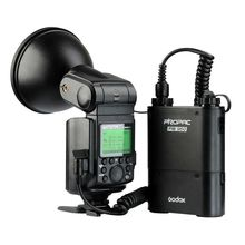 Godox WITSTRO AD360II TTL Wireless Power Control Outdoor Flash Light + PB960 Power Battery Pack Kit Black for Nikon