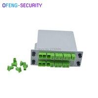 10 шт./лот SC APC PLC Splitter 1X16, Сплиттер оптический коробка FTTH с 1X16