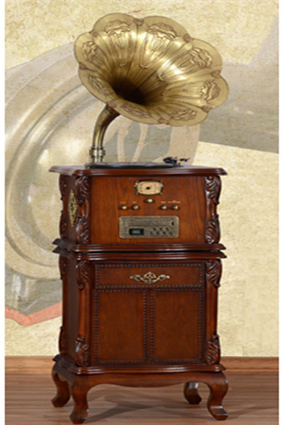 Charmant Indian Style Living Room Furniture Brass Gramophone Horn