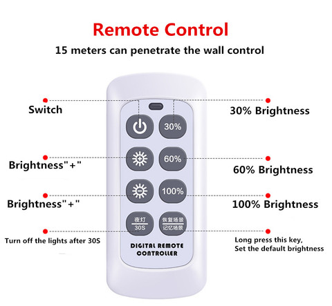 controle remoto escurecimento luz de rua solar