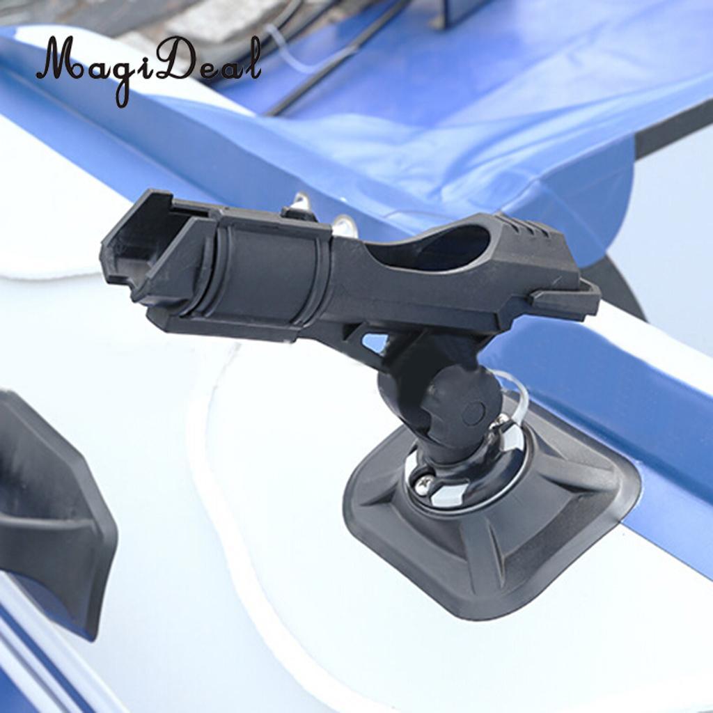 MagiDeal Универсальный 360 градусов Регулируемая байдарки Рыбалка лодка железнодорожные боковой держатель штанги инструмент для гребная лодка ... ...