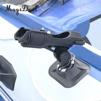 MagiDeal Universal 360 Degree Adjustable Kayaks Fishing Boat Rail Side Mount Rod Holder Tool For Rowing