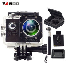YAGOO5 Action Camera waterproof WIFI 12MP Full HD 1080P 30FPS 2.0″LCD 170D Diving 30M Waterproof Sport Camera mini cam