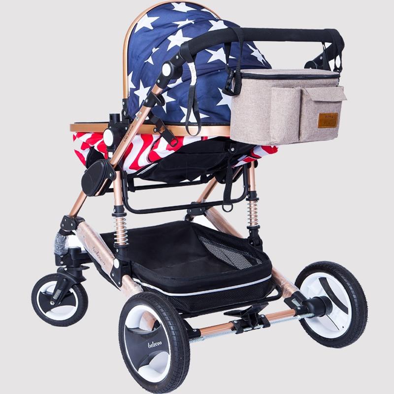 Image 2 - Diaper Bag For Baby Stuff Nappy Bag Stroller Organizer Baby Bag For Mom Travel Hanging Carriage Pram Buggy Cart Bottle BagDiaper Bags   -