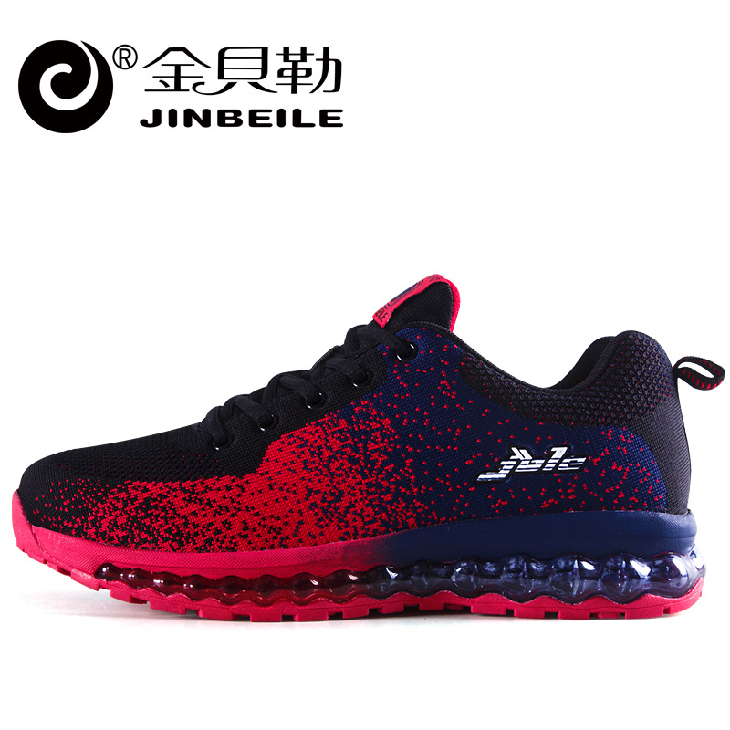 inBeiLe 2017 air cushion original zapatos hombre men athletic sport Outdoors shoes man running shoes size 39-44