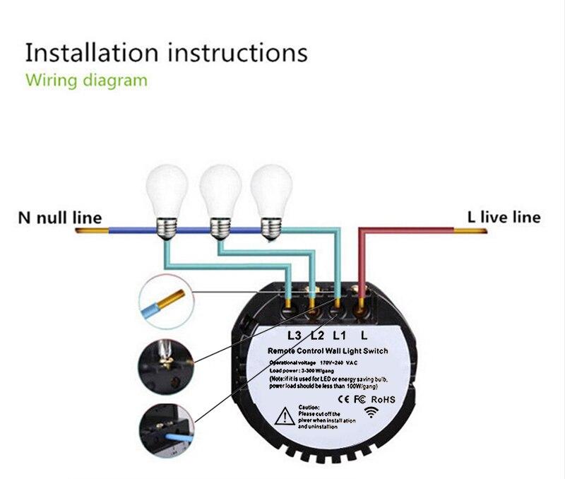 Gang Way Light Switch Wiring Diagram Uk on