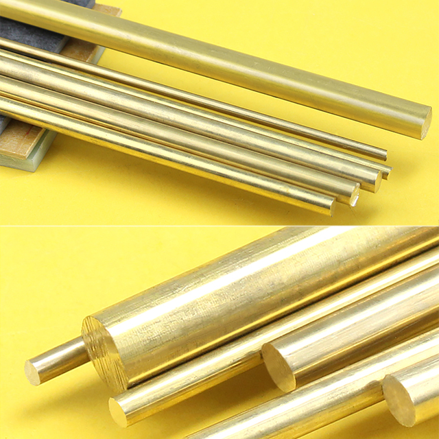 4/6/8/10/12mm bricolage matériel en laiton barre ronde tige circulaire fil Tube modélisation