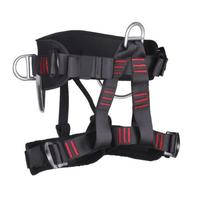 Mountaineering Safety Belt Rock Climbing Half Length Aerial Work Hot Forged Alloy Steel Pipe Protection Outdoor Sports
