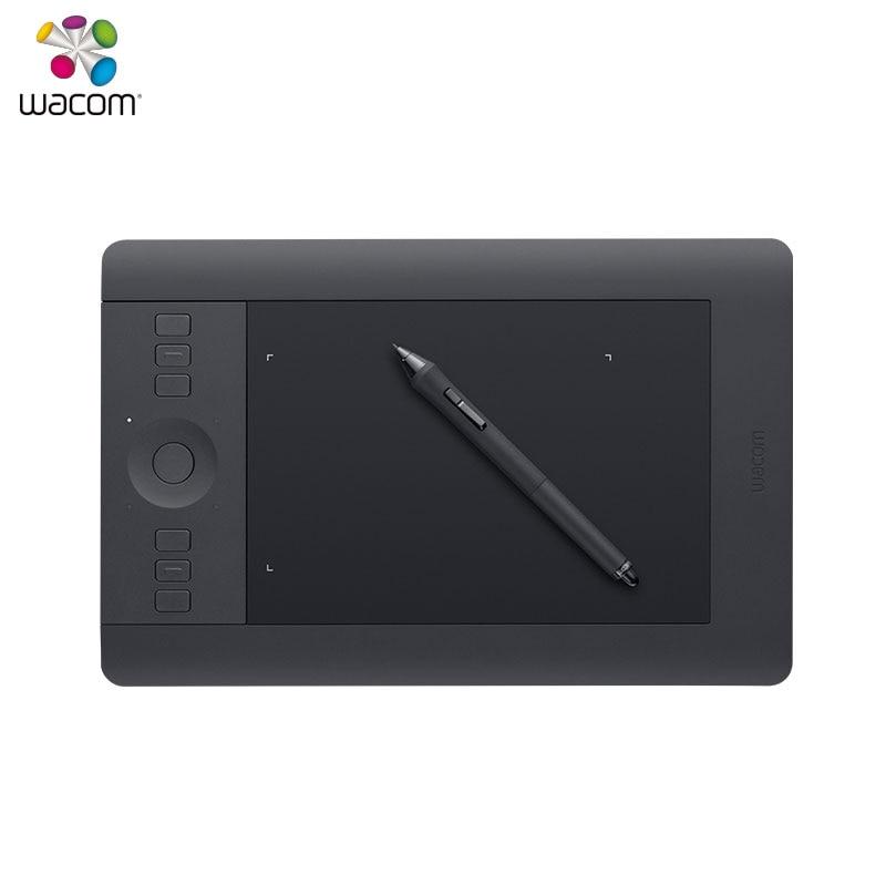 Wacom Intuos Pro PTH 451 ручка и сенсорный Цифровой Планшеты 2048 давление уровень включают беспроводной аксессуар комплект