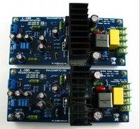 LJM DIY усилитель в сборе плата L15D цифровой аудио усилитель готовая плата IRS2092 IRFI4019H