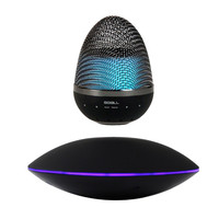 New Magnetic Levitation Floating Bluetooth Speaker Colour Changing