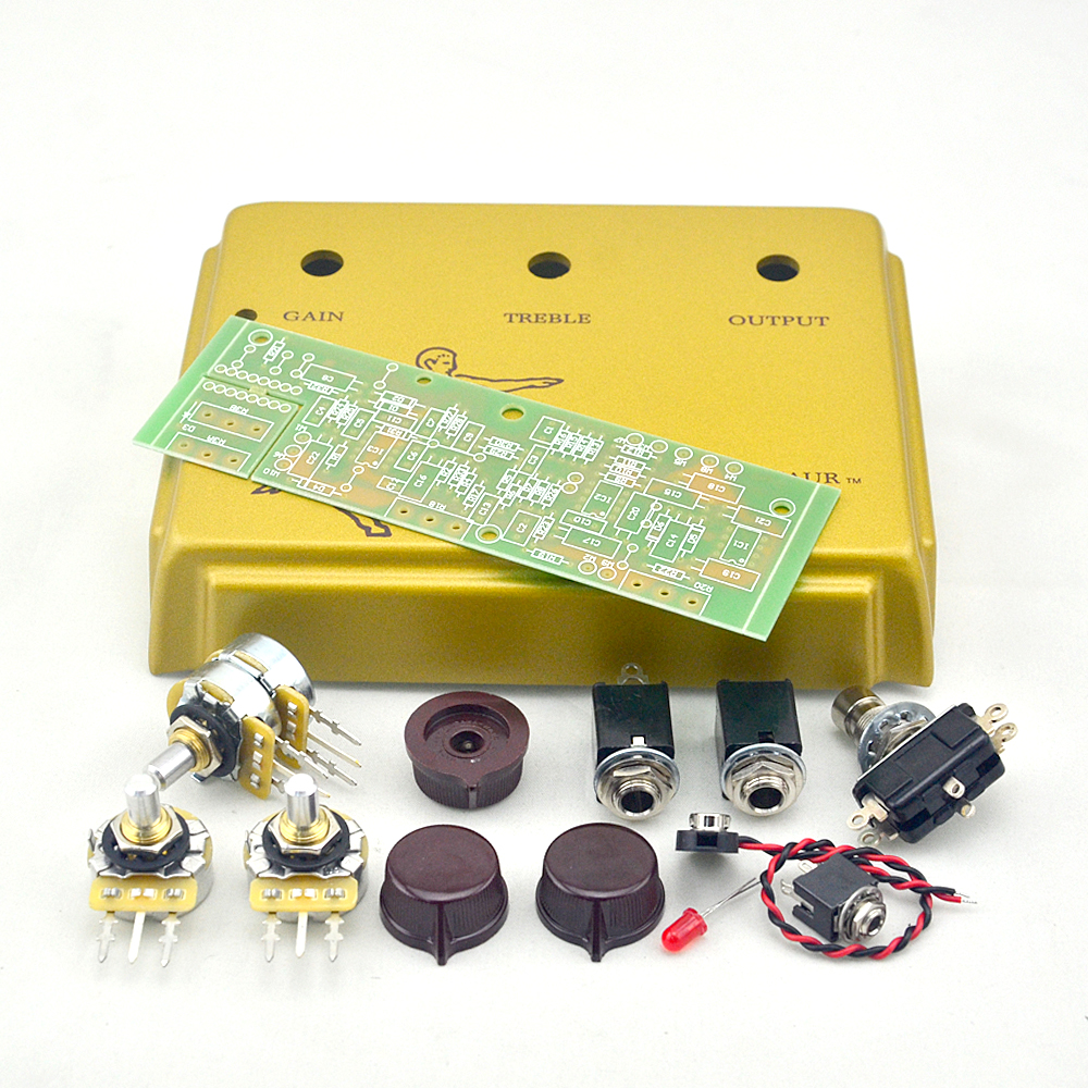 New Klon Centaur Overdrive Pedal Kits Project GOLD Box Enclosure with PCB and all kits for Musical instrument guitar accessories easy ride kids 2 pedal scooter dual pedal scooter double pedal scooter with brake and musical light and safety helmet 7 safer