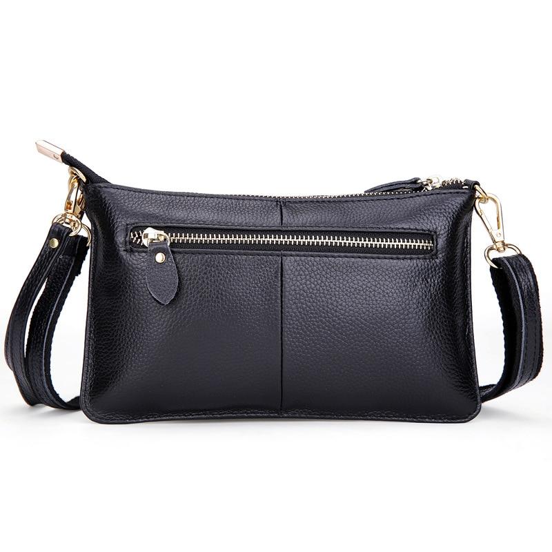 bolsa de couro genuíno pequeno Ocasião : Versátil