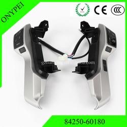Wysokiej jakości 84250-60180 84250-60180-B0 przełącznik kierownicy dla 09-17 Toyota Land Cruiser Prado KDJ150 GRJ150 8425060180