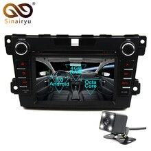 Sinairyu Android 8,0 Octa Core dvd-плеер для Mazda CX7 2010-2015 Multivan gps навигации Мультимедиа Радио стерео головное устройство