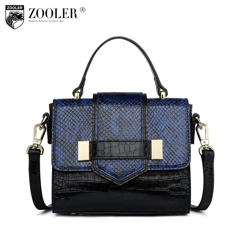 ZOOLER Fashion Genuine Leather Crossbody Bags Handbags Women Famous Brands Female Messenger Bags Lady Small Tote Bag Sac A Main women pu leather shoulder bag fashion lady sac a main fashion handbags shell tote crossbody with small bear woman messenger bags