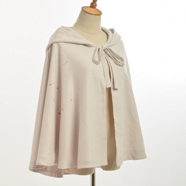 1 pc femmes mode capuche manteau manteau Vintage Floral Cardigan Cape couvrir hauts