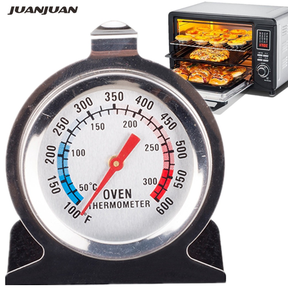 Fridge Freezer Oven Thermometer Temperature Control Pointer Gauge Bake Stainless