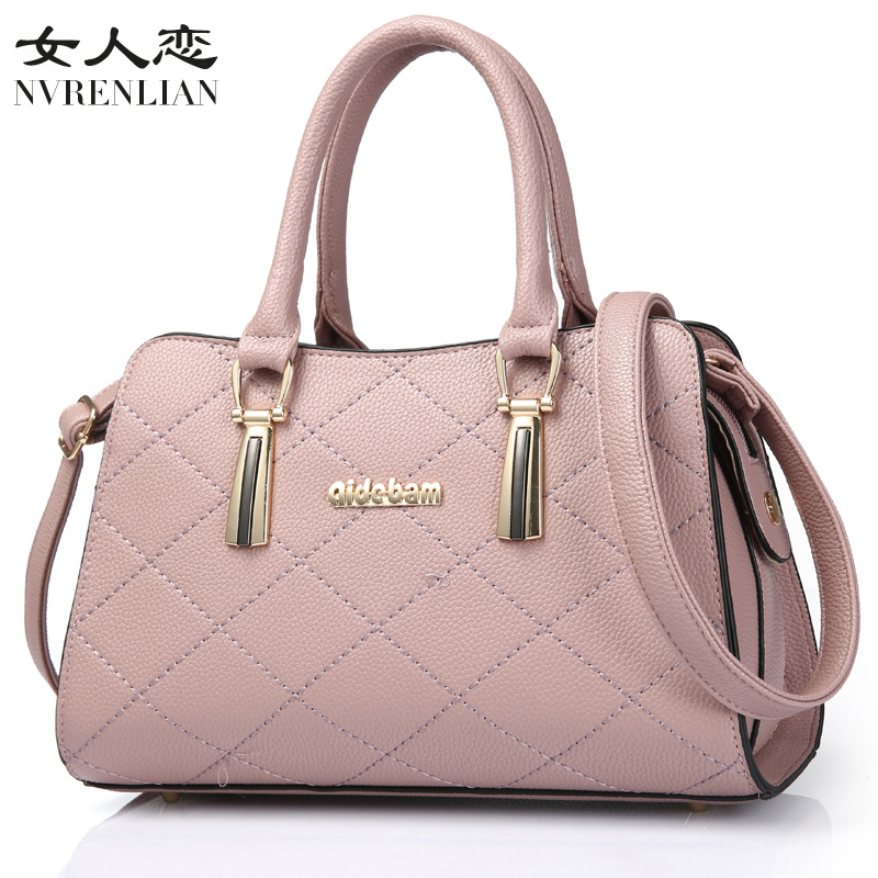 Women Bag Original Female OL Handbag Fashion Shoulder Bag Leather Messenger Bags Casual Crossbody Bags Purse Satchel Tote 2017 new clutch steam punk female satchel handbag gothic women messenger bags shoulder bag bolsa shoulder bags tote bag clutches
