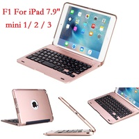 ABS for iPad mini 2 3 Case with Keyboard Cover A1432 A1454 A1599 A1600 USB Bluetooth Wireless for iPad mini 2 3 Keyboard 7.9''