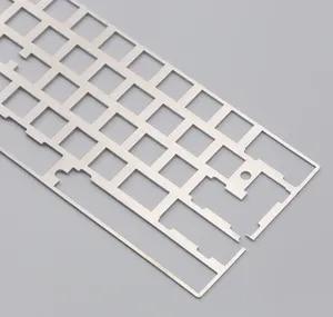 Image 4 - Алюминиевая пластина dz60 для DIY, механическая клавиатура из нержавеющей стали gh60