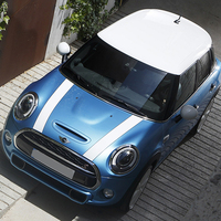 Car Hood Engine Rally Line Stickers And Decals Car Styling For Mini Cooper S JCW One