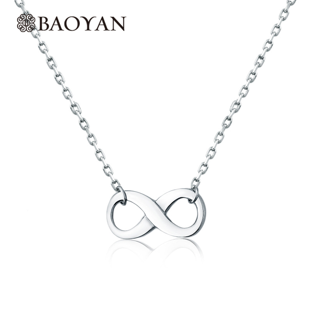 Cute Ladies Women Stainless Steel Silver Simple Infinity Charm Pendant  Necklace Designs Jewelry Christmas Gift for Girlfriend b36fbbfe3