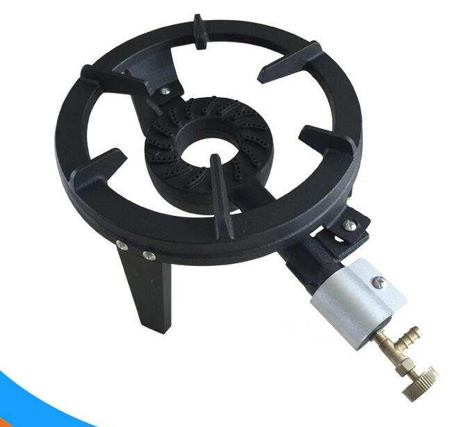 Us 1104 0 8 Off Hot Sale New Big Fire Cast Iron Gas Stove Burner Commercial High Flame Gas Furnace Burner Hotel Restaurant Gas Cooktop Burner In