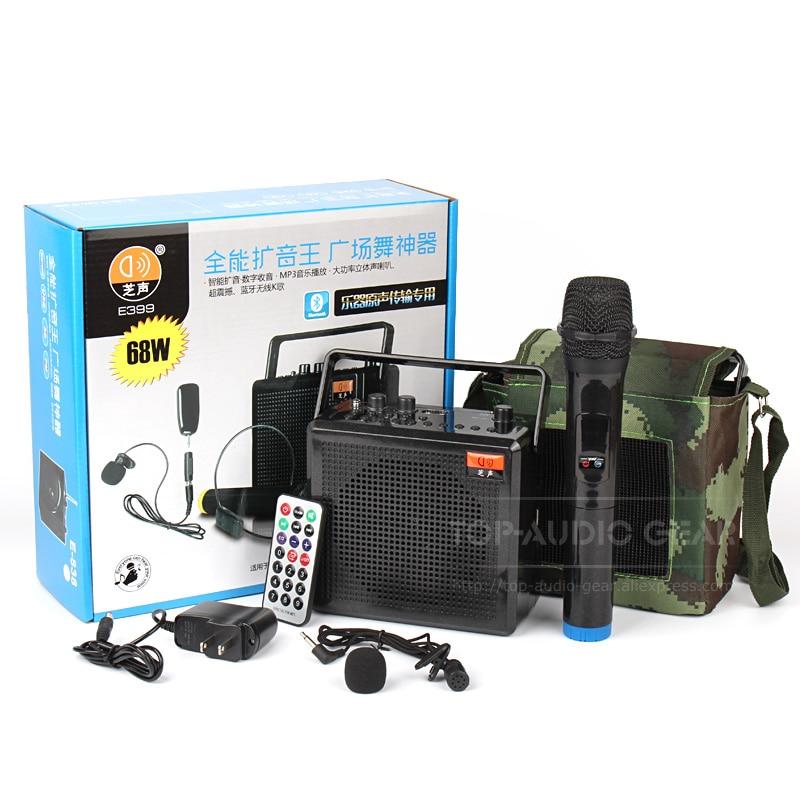 Tragbares Audio & Video Tragbare Mini Audio Lautsprecher Leistungsstarke Stimme Verstärker Mit Mikrofon Eingebaute Akku Für Lehrer