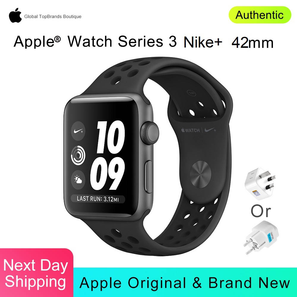 Relógio maçã Série 3 Nike + 42mm