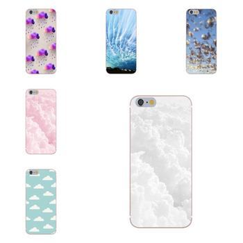 Clouds On Blue Sky Soft Cover Cell Phone Cases For Xiaomi Redmi 5 4A 3 3S Pro Mi4 Mi4i Mi5 Mi5S Mi Max Mix 2 Note 3 4 Plus Сотовый телефон