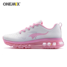 onemix woman running shoes outdoor sports sneakers breathable outdoor walking jogging sneakers in summer trekking shoes in pink