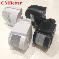 CMBetter LED Infrarrojo Del Sensor de Movimiento 12 v 24 v Automático Temporizador de Interruptor Sensor de Movimiento PIR Detector Infrarrojo de 180 Grados de Rotación HH