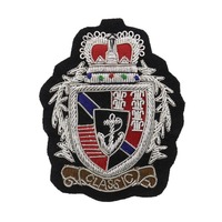 Embroidery Patch School Badge Embroidered Patches Military Tactical Armband Cap Bag Badges Garment Accessories LQW1042