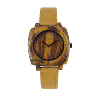 Splendid Luxury Men S Natural Wooden Wristwatch Wood Quartz Watch Box