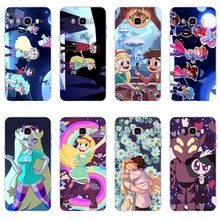 Star vs Forces of Evil ภาพเปลือก TPU นุ่มสำหรับ Samsung Galaxy S6 S6edge S6Plus A7 S7edge S8 s9 J5 J7 2016(China)