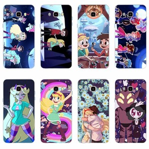 Star vs the Forces of Evil Picture TPU soft shell cover for Samsung Galaxy S6 S6edge S6Plus A7 S7edge S8 S9 J5 J7 2016