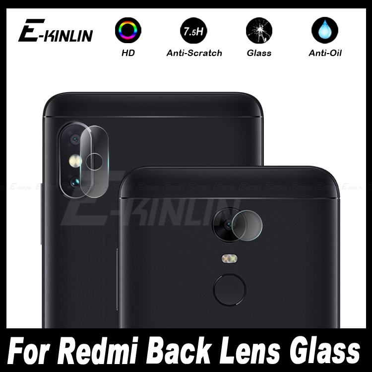 Back Camera Lens Protective For XiaoMi Redmi Note 5 Plus S2 5A 4 4X Pro Prime Global Transparent Tempered Glass Protector Film