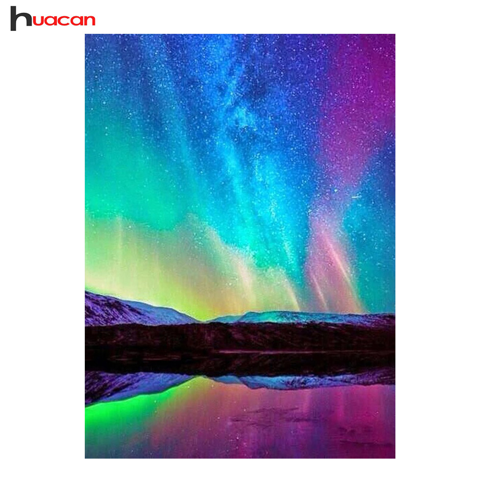 Blxecky 5d Diy Diamond Painting By Number Kitsnight Sky - HD 1080×1080