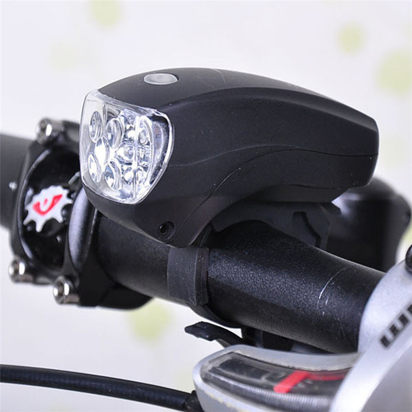 High Quality New Cycling Bike Bicycle Super Bright 5 LED Front Head Light Lamp 3-Modes Torch
