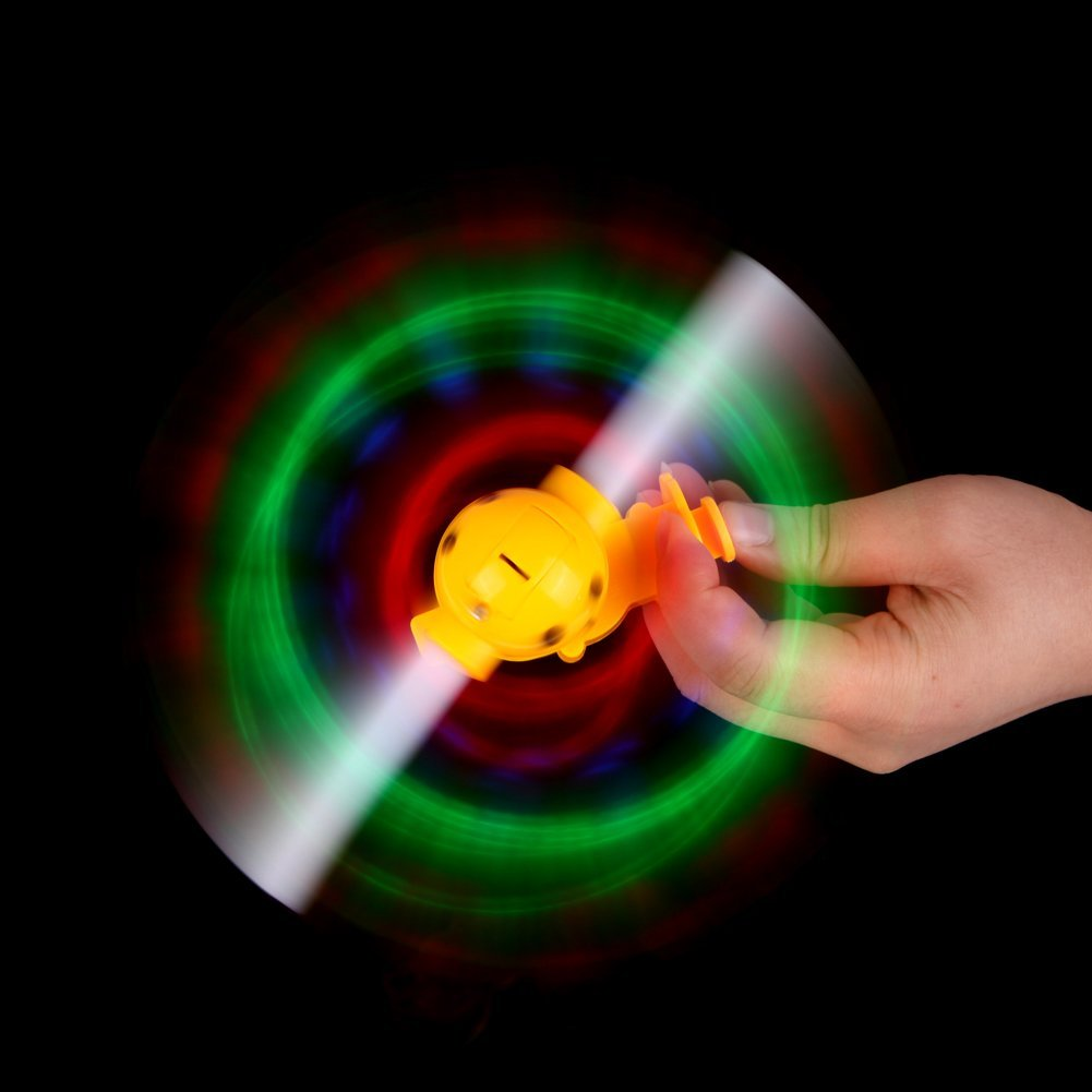 Light-Up LED Flashing Spinning Windmill Show With Sound Kids Toy