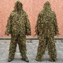 Sniper Special Force Ghillie Suit Ghilly Yowie Screed Cloth Airsoft Paintball Combat Tactical Digital Woodland Hoodie