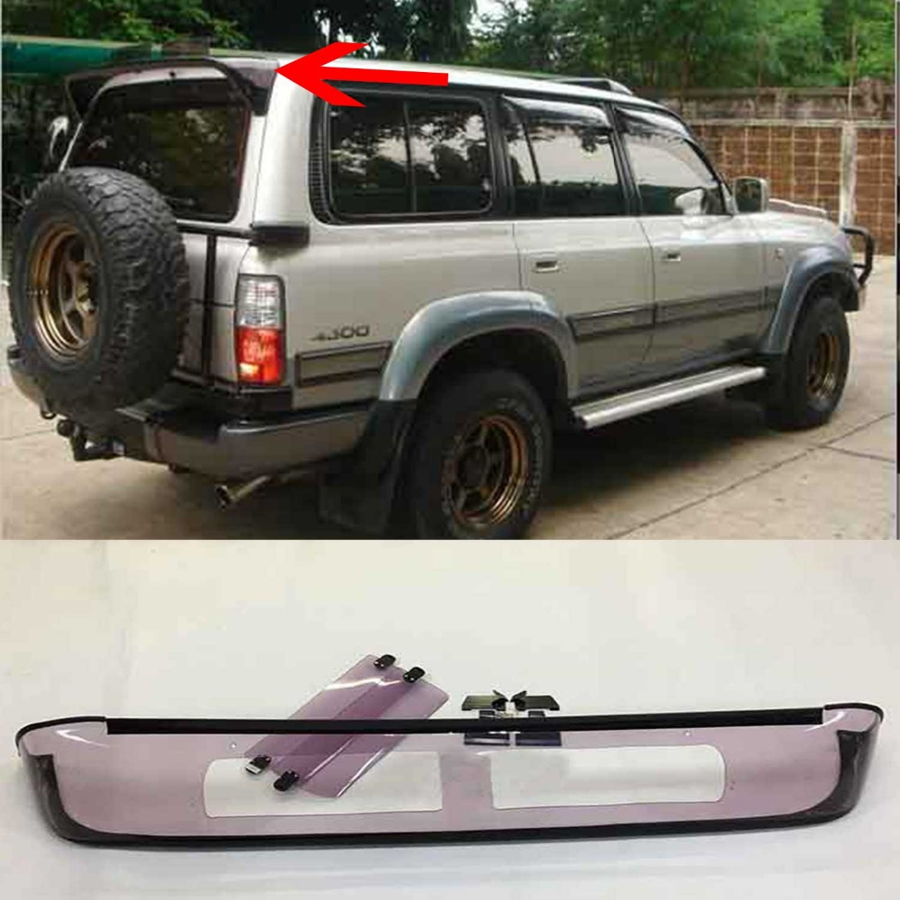 Rear Tail Spoiler For Toyota Land Cruiser 4500 LC80 FJ80-in Spoilers &  Wings from Automobiles & Motorcycles on Aliexpress.com | Alibaba Group