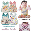 2017New Baby & Kids Cute Cartoon Cotton Bibs Waterproof Bandana Children Baby Bibs Boys Girls Infants Burp Clothes Feeding Care