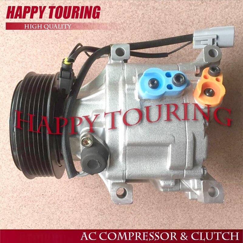 Для Toyota Corolla Altis 2 шт. компрессор 1 4 канавки без Электрический провод, один 6 канавки с Электрический провод