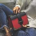 Brand small crossbody bags for women saddle girls messenger bag frauen designer shoulder handbags 747