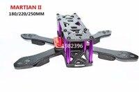 Martian II 2 180 220 250 180mm 220mm 250mm 4mm Arm Carbon Fiber Frame Kit With
