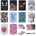 Cartoon Flower tree Painting PU Leather Flip wallet Case For Apple iPad Mini 1 2 3 Cases Stand Cover For ipad Mini 1 mini 2 3 #1