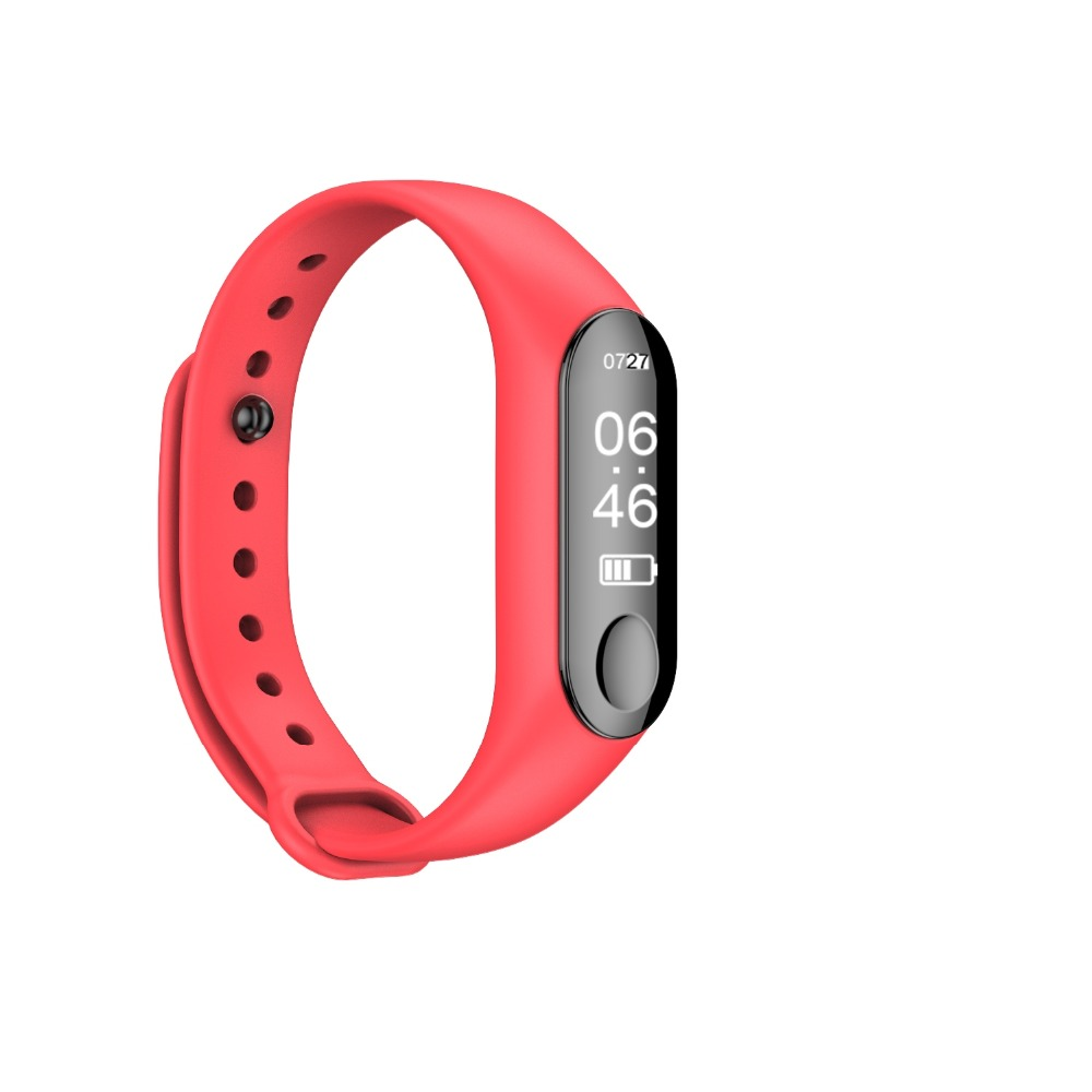 M3 Sports Watch Waterproof Smartwatch Heart Rate Blood Pressure Smart Bracelet Watches Women for Android IOS Pedometer Watch цена